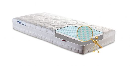 Materac galaxy power sleep comfort foam visco memory visco cool gel